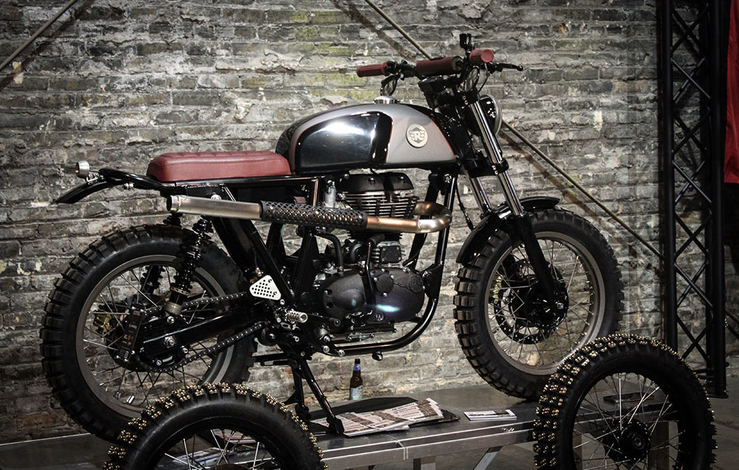 Analog Motorcycles: Royal Scrambler