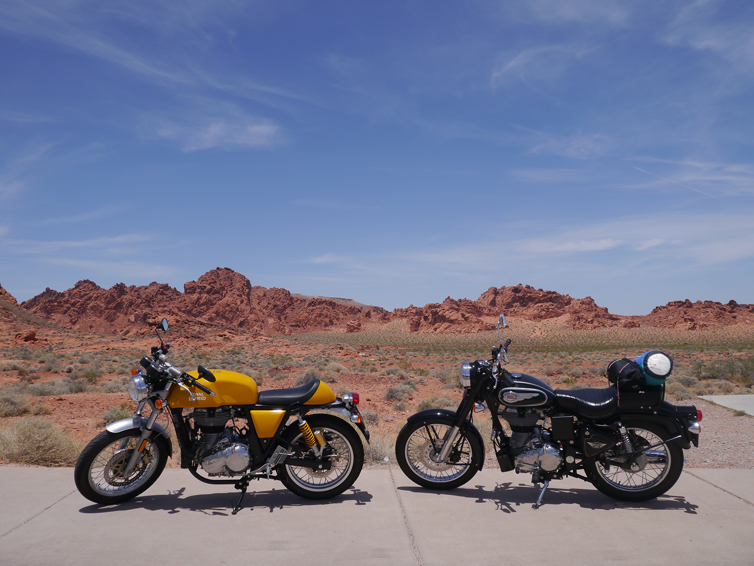 Bullet and GT Red Rocks