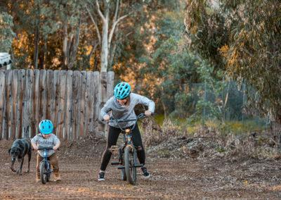 Melissa & her son Hawk