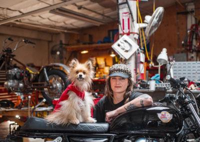 Lana & her dog Gus - Build Train Race